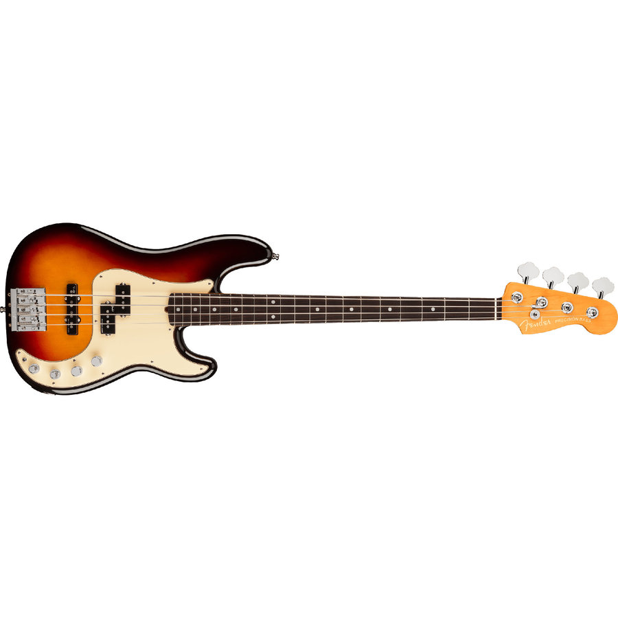 View larger image of Fender American Ultra Precision Bass - Rosewood, Ultraburst