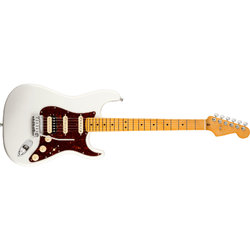 Fender American Ultra Stratocaster HSS - Maple, Arctic Pearl