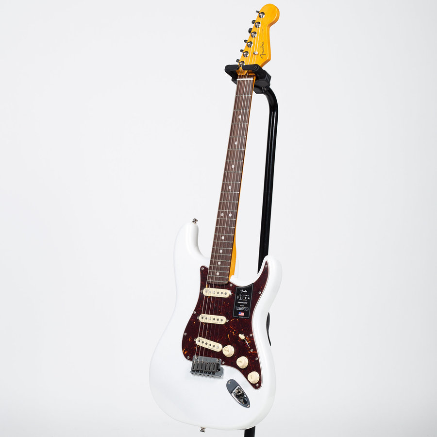 View larger image of Fender American Ultra Stratocaster - Rosewood, Arctic Pearl