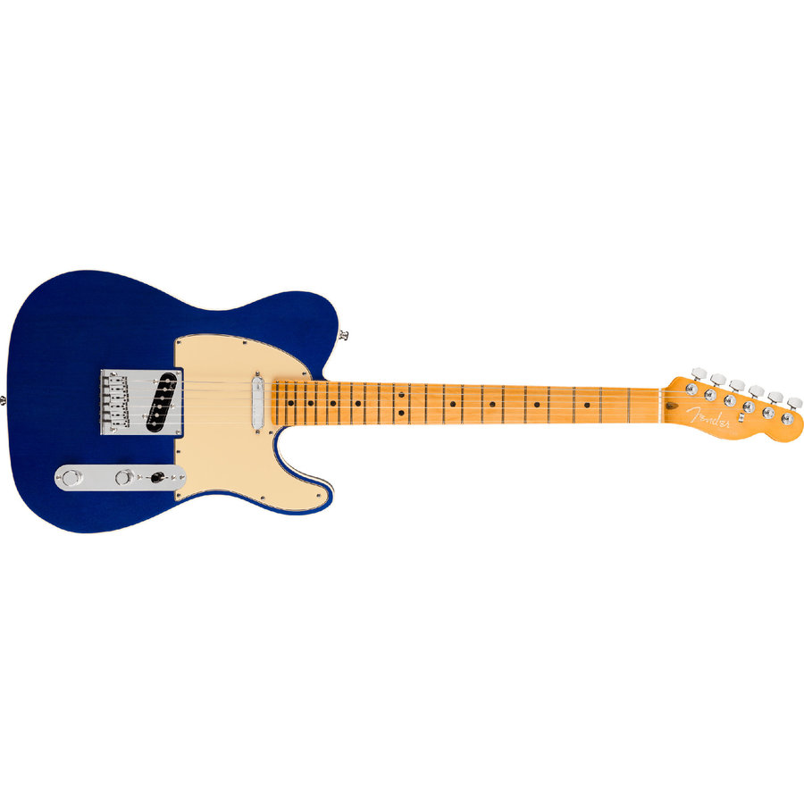 View larger image of Fender American Ultra Telecaster - Maple, Cobra Blue
