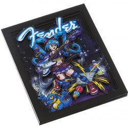 Fender Anime Rocker 3D Magnet