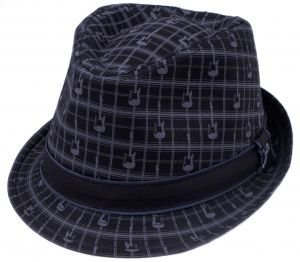 View larger image of Fender Axe Plaid Fedora - Small/Medium