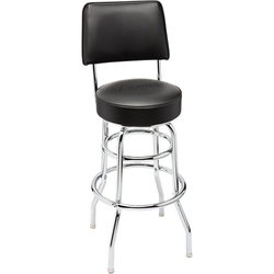 Fender Blackout Backrest Barstool - 30""
