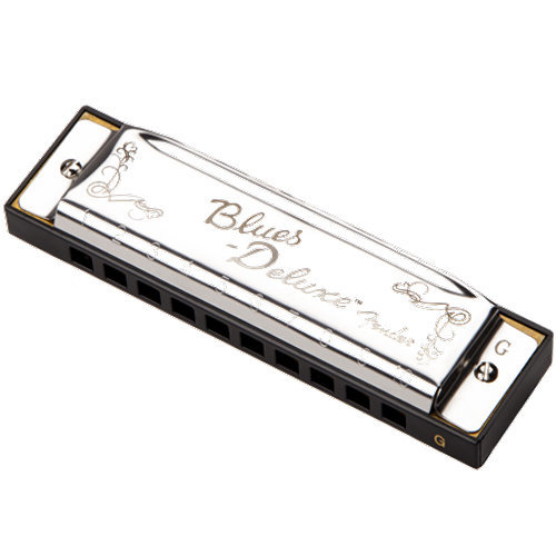 View larger image of Fender Blues Deluxe Harmonica - G