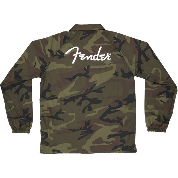 View larger image of Fender Camo Coaches Jacket - Large