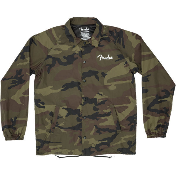View larger image of Fender Camo Coaches Jacket - XL