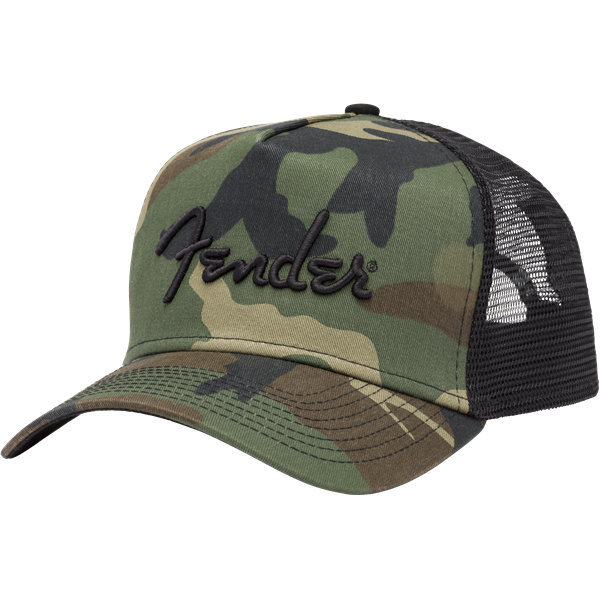 View larger image of Fender Camo Snapback Hat
