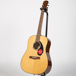 Fender CD-60S Dreadnought Acoustic Guitar - Walnut, Natural