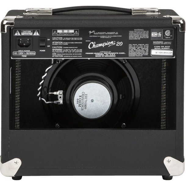 View larger image of Fender Champion 20 Guitar Combo Amp