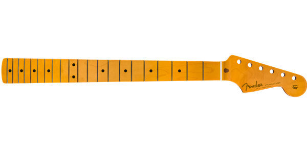 View larger image of Fender Classic Series 50s Stratocaster Neck - Maple, Soft V Shape, Lacquered