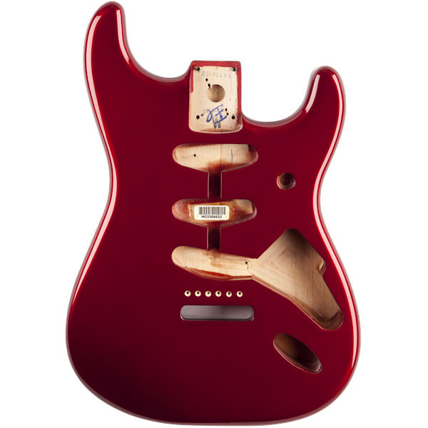 View larger image of Fender Classic Series 60's Stratocaster SSS Alder Body - Candy Apple Red