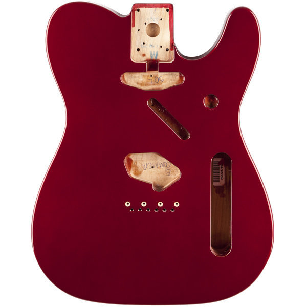 View larger image of Fender Classic Series 60's Telecaster SS Alder Body - Candy Apple Red
