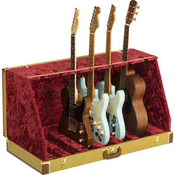 Fender Classic Series 7 Guitar Case Stand - Tweed