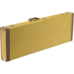 Fender Classic Series Stratocaster/Telecaster Wood Case - Tweed