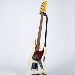 Fender Custom Shop 60s Relic Jazz Bass - Rosewood, Aged Olympic White