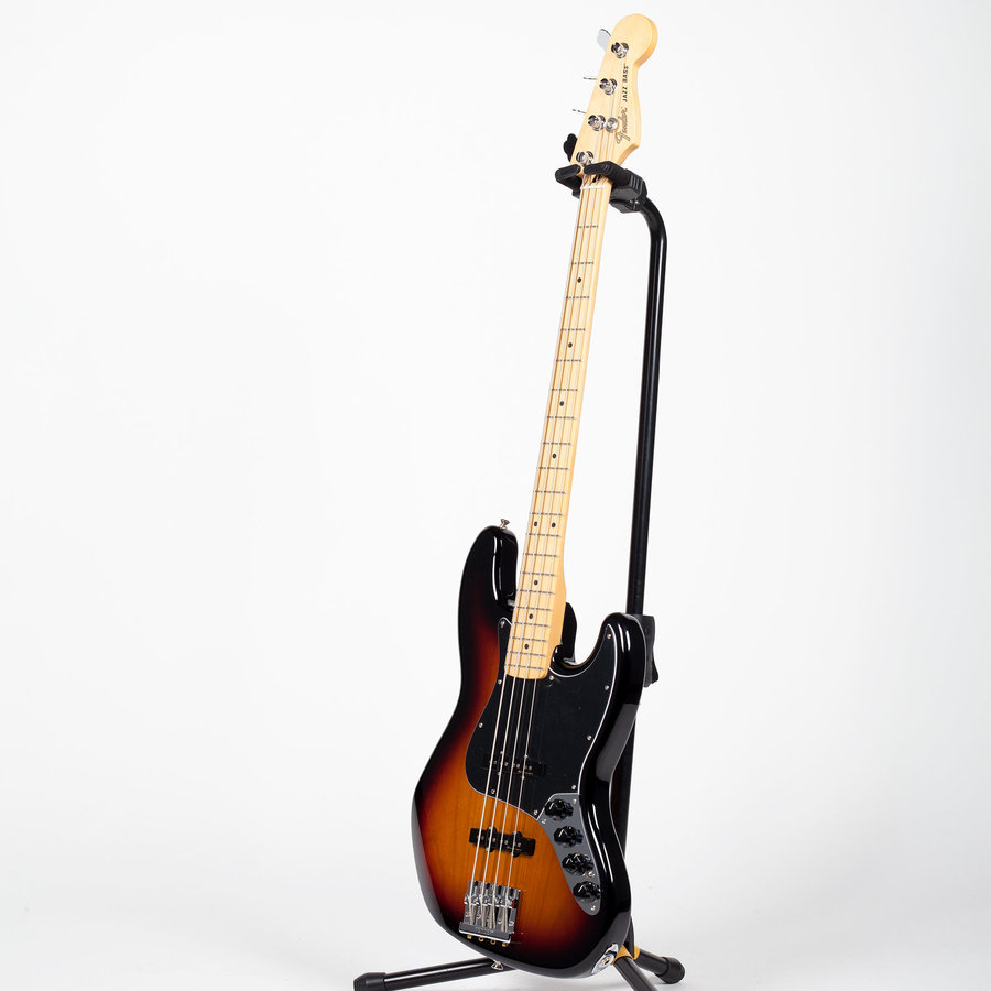 View larger image of Fender Deluxe Active Jazz Bass - Maple, 3-Color Sunburst