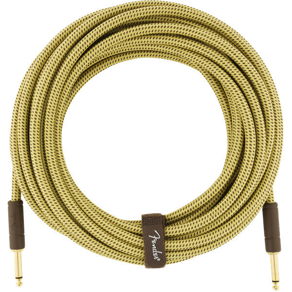 View larger image of Fender Deluxe Series Instrument Cable - Straight / Straight, 25', Tweed