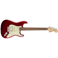 Fender Deluxe Stratocaster HSS - Pau Ferro, Candy Apple Red