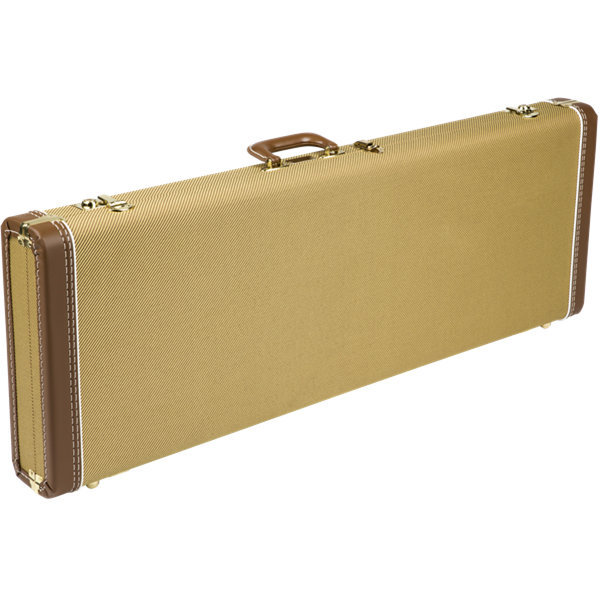 View larger image of Fender Deluxe Stratocaster/Telecaster Hardshell Case - Tweed