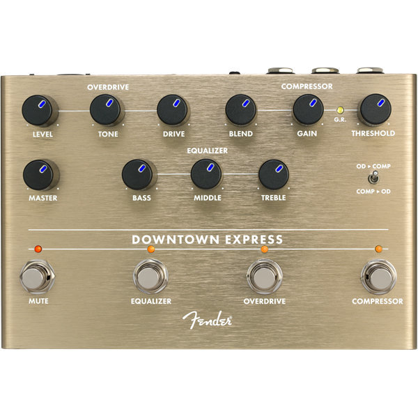 View larger image of Fender Downtown Express Bass Multi-Effects Pedal