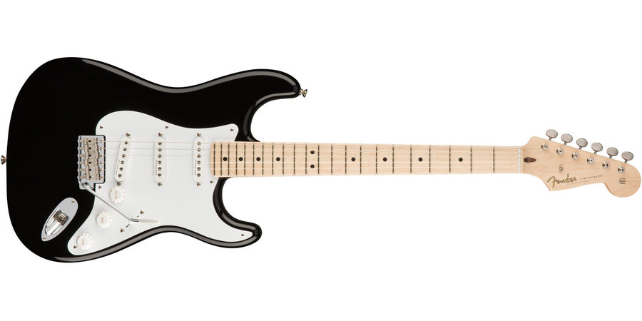 View larger image of Fender Eric Clapton Signature Stratocaster - Maple, Black