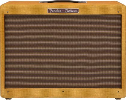 View larger image of Fender Hot Rod Deluxe 112 Enclosure Guitar Amplifier - Lacqured Tweed