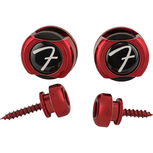 View larger image of Fender Infinity Strap Locks - Red