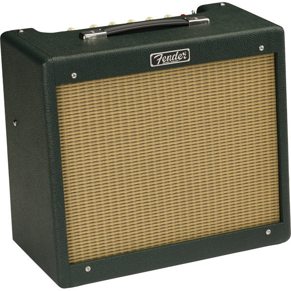 View larger image of Fender Limited Edition Blues Jr IV Guitar Amp - British Green/Wheat