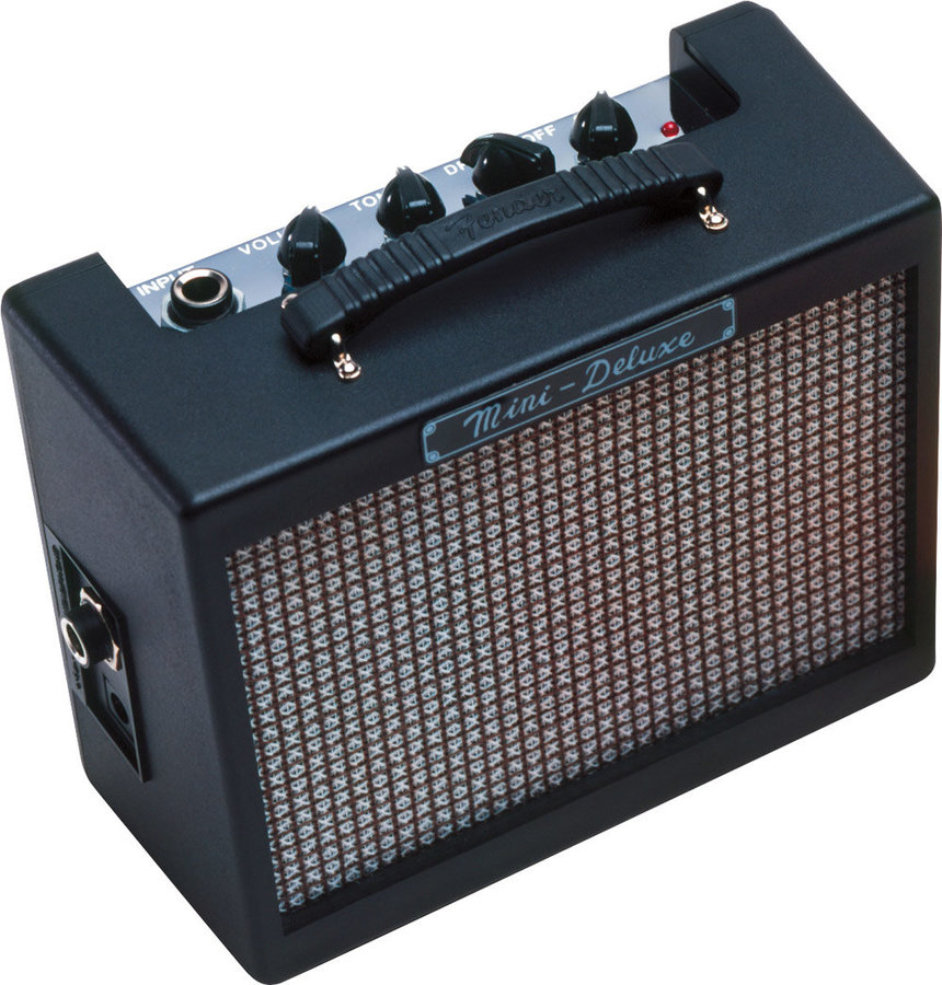 View larger image of Fender MD20 Mini Deluxe Amp - Black