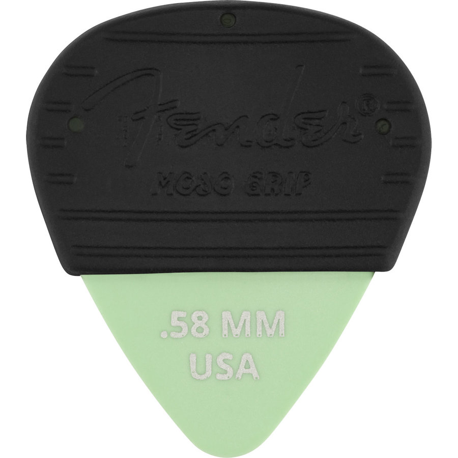 View larger image of Fender Mojo Pick Grip with Dura-Tone Delrin Pick - .58 mm, 3 Pack