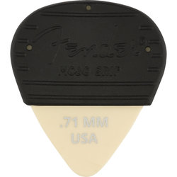 Fender Mojo Pick Grip with Dura-Tone Delrin Pick - .71 mm, 3 Pack