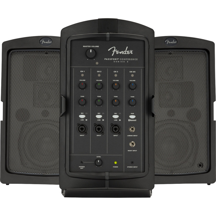 View larger image of Fender Passport Conference Series 2 Portable PA System - Black