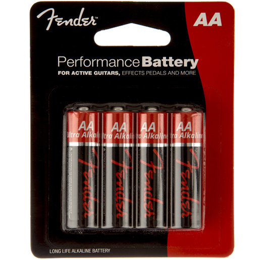 View larger image of Fender Performance AA Batteries - 4 Pack