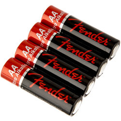 Fender Performance AA Batteries - 4 Pack