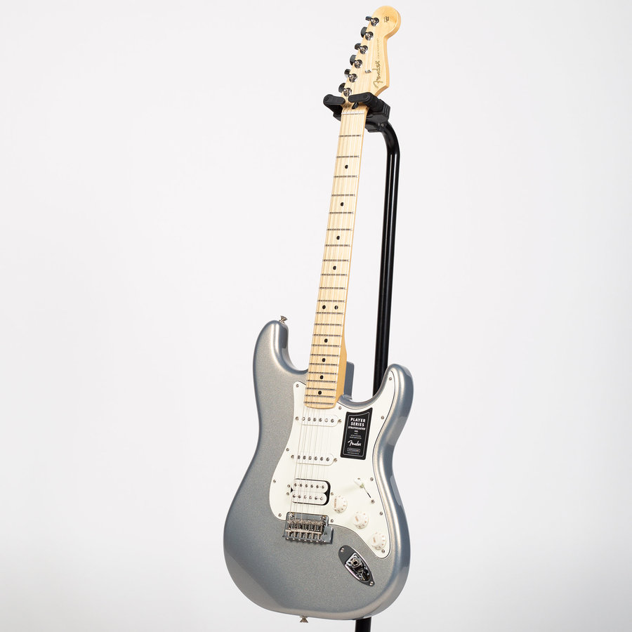 View larger image of Fender Player Stratocaster HSS - Maple, Silver