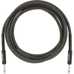 Fender Professional Series Instrument Cable - Straight / Straight, 10', Gray Tweed