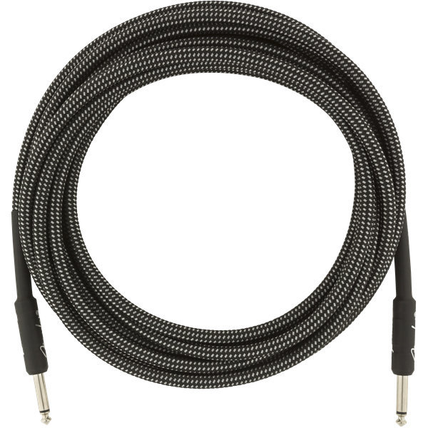 View larger image of Fender Professional Series Instrument Cable - Straight / Straight, 18.6', Gray Tweed