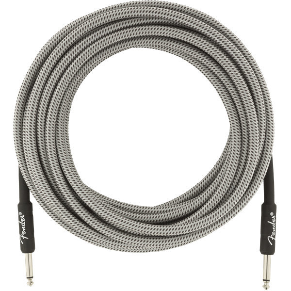 View larger image of Fender Professional Series Instrument Cable - Straight / Straight, 25', White Tweed