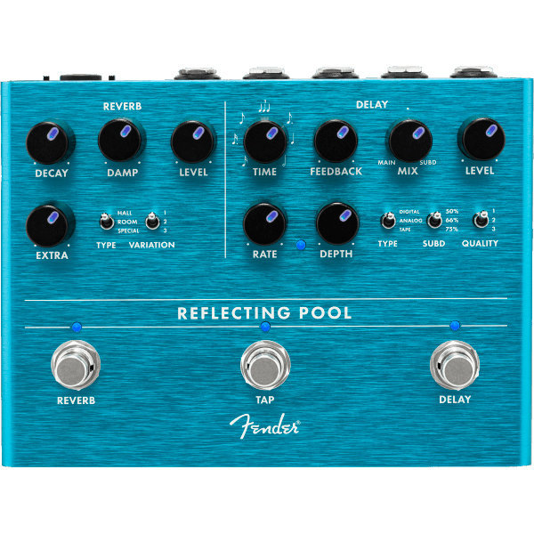 View larger image of Fender Reflecting Pool Delay/Reverb Pedal
