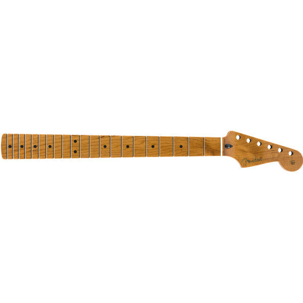 """View larger image of Fender Roasted Maple Stratocaster Neck - Maple, C Shape, 12"""""""