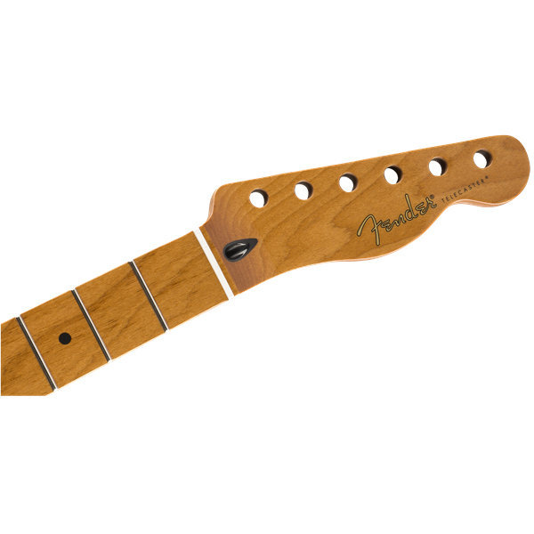 View larger image of Fender Roasted Maple Telecaster Neck - Maple, Flat Oval, 12