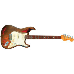 Fender Rory Gallagher Signature Stratocaster Relic - Rosewood, 3-Color Sunburst