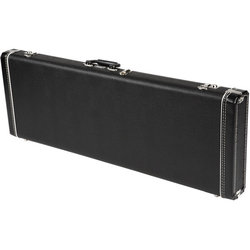 Fender Standard Mustang/Jag-Stang/Cyclone Hardshell Case - Black with Black Acrylic Interior