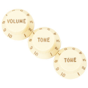 View larger image of Fender Stratocaster Knobs - Aged White