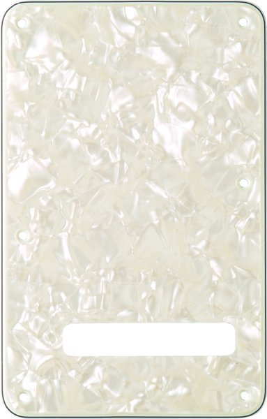 View larger image of Fender Stratocaster Modern Style Tremolo Backplate - White Pearl