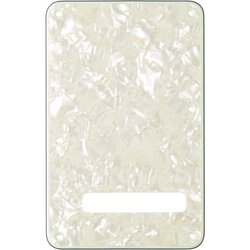 Fender Stratocaster Modern Style Tremolo Backplate - White Pearl