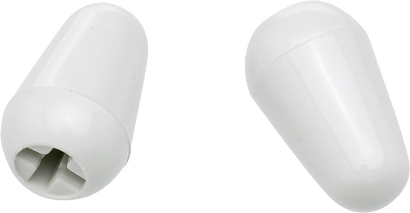 View larger image of Fender Stratocaster Switch Tips - White, Pair