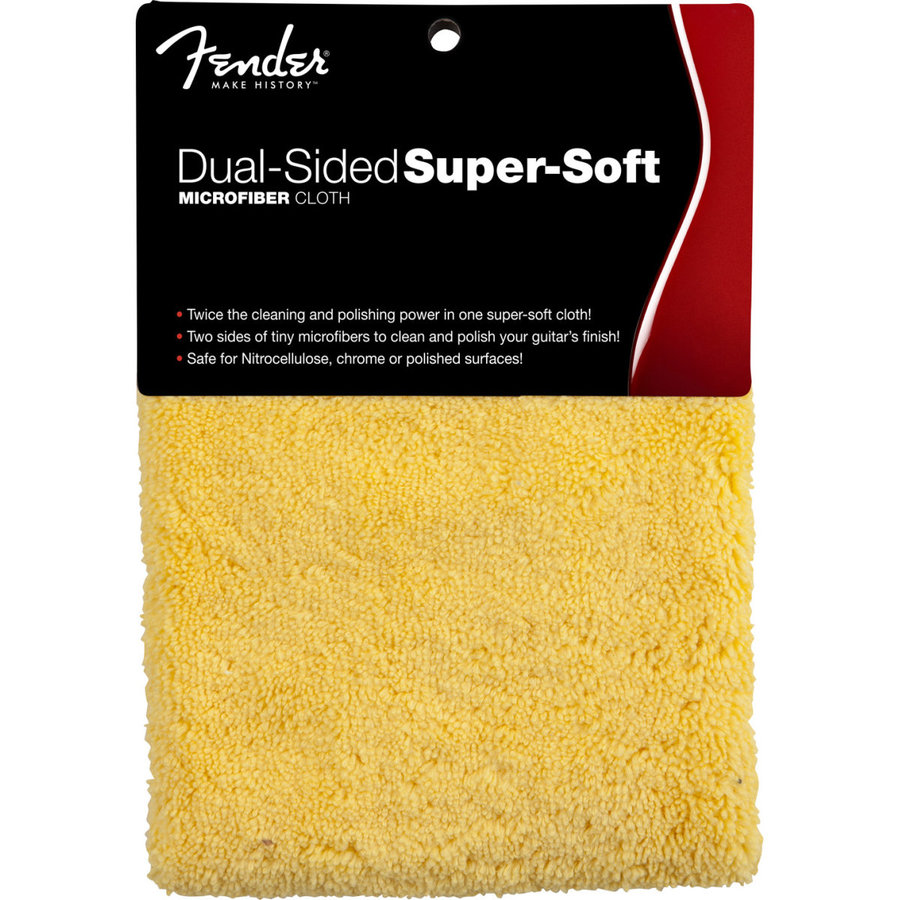 View larger image of Fender Super-Soft Dual-Sided Microfiber Cloth