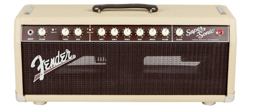 View larger image of Fender Super-Sonic 22 Head - Blonde
