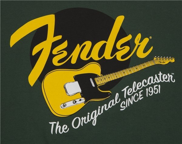 View larger image of Fender The Original Telecaster T-Shirt - XL